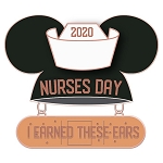 Disney Pin - Nurses Day 2020 - Mouseketeer Ear Hat