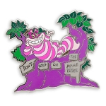 Disney Pin - Cheshire Cat - Don't Step on the Mome Raths