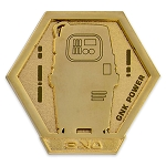 Disney Pin - Star Wars Galaxy's Edge Droid Badge - GNK Power Droid - Limited Edition