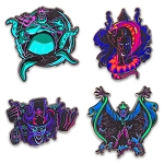 Disney Four Pin Booster Set - Disney Villains