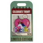 Disney Pin - Rainbow Unicorn - Inside Out - National Unicorn Day 2020 – Pin of the Month – Limited Edition
