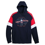 Disney Mens Pullover Hoodie - Mickey Mouse Americana - Walt Disney World
