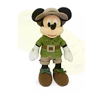 Disney Plush - Mickey Mouse Safari - Animal Kingdom - 14''