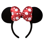 Disney Minnie Ear Headband - Classic Minnie Mouse - Velveteen