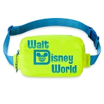 Disney Belt Bag - Walt Disney World Resort - Neon