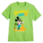 Disney Youth Shirt - Mickey Mouse Summer Vibes