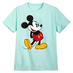 Disney Adult Shirt - Classic Mickey Mouse - Topaz