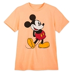 Disney Adult Shirt - Classic Mickey Mouse - Mango