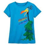 Disney Girls Shirt - Kevin - Adventure Is Out There - Pixar Up