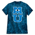 Disney Adult Shirt - Monsters University - Tie Dye