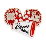 Disney Pin - Minnie Mouse - Cheerleader