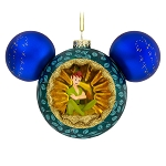 Disney Glass Ornament - Mickey Mouse Icon - Tinker Bell & Peter Pan