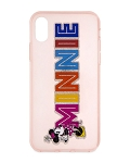 Disney iPhone X / XS Case - Minnie Mouse - Glitter Name