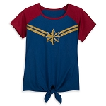 Disney Women's Shirt - Captain Marvel - Fashion Tee