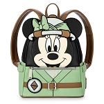 Disney Parks Loungefly Backpack - Safari Minnie Mouse - Disney's Animal Kingdom