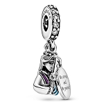 Disney Pandora Dangle Charm - Mulan - Be Strong & Be Yourself