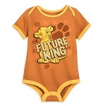 Disney Baby Bodysuit - Simba - Future King - The Lion King