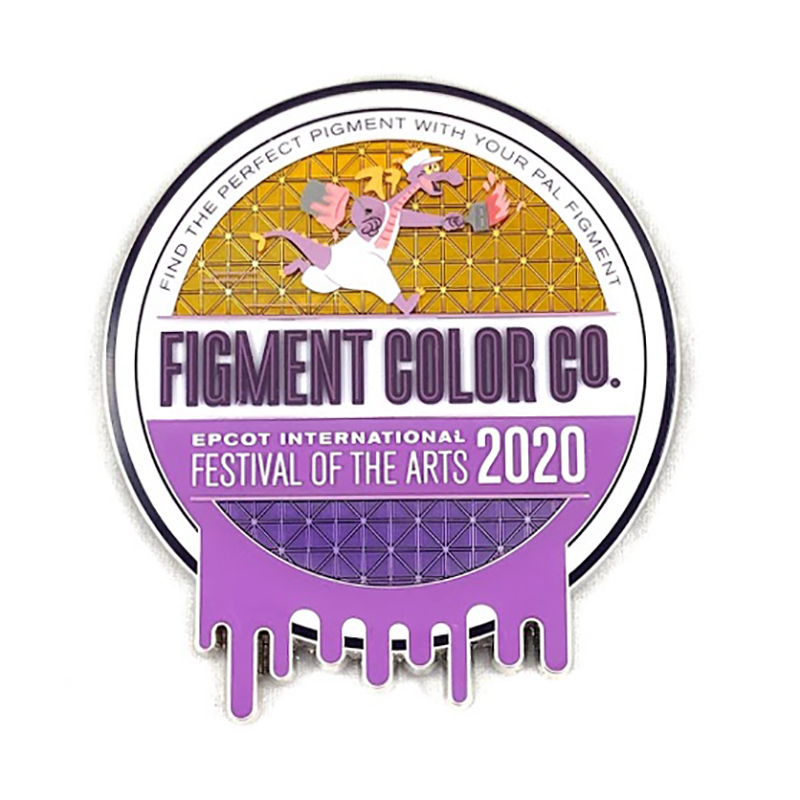 Disney Magnet - Figment Color Co. - Epcot Festival of the Arts 2020