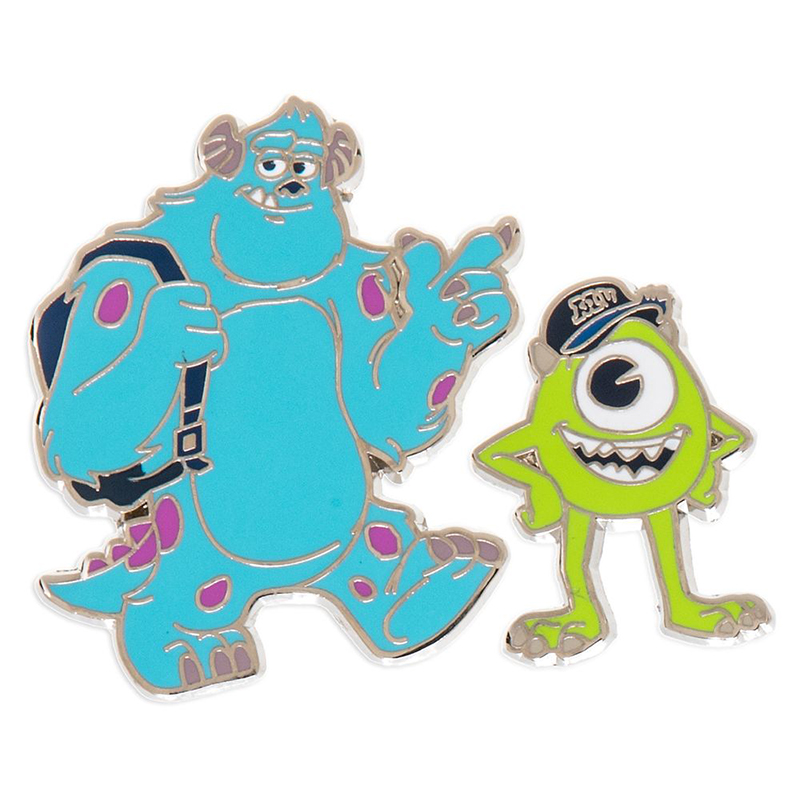 Disney Pin Set - Mike & Sulley - Monsters University