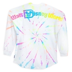 Disney Adult Spirit Jersey - Walt Disney World Neon Splatter