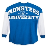 Disney Adult Spirit Jersey - Monsters University - Blue and White