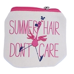 Disney Hair Ties - Summer Hair Don't Care - Hair Scrunchies with Bag
