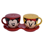 Disney Salt and Pepper Set - Mouse Wares - Mickey and Minnie