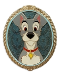 Disney Pin - Tramp Portrait - Lady & the Tramp - Limited Edition