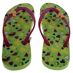 Disney Women's Flip Flops - Summer Season - Fruit Icons