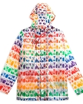 Disney Women's Rain Jacket - Rainbow Disney Collection