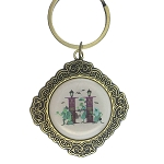 Disney Keychain Keyring - Initial Mickey Mouse - H Is For Haunted Mansion