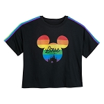 Disney Woman's Shirt - Mickey Mouse Icon - Rainbow Disney Collection