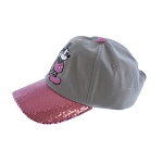 Disney Baseball Cap - Mickey Mouse - Bubble Gum Pink Sequin