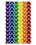 Disney Jumbo Beach Towel - Mickey Icon - Rainbow Disney Collection