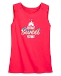 Disney Woman's Shirt - Fantasyland Castle - Home Sweet Home - Tank