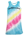 Disney Woman's Dress - Walt Disney World Logo - Tie-Dye