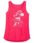 Disney Woman's Shirt - Minnie Mouse Tank Top - Pink