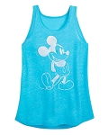 Disney Woman's Shirt - Mickey Mouse Tank Top - Blue