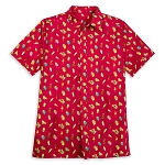 Disney Mens Shirt - Disney Parks Aloha