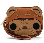 Disney Loungefly Wristlet Bag - Wicket Warrick - Star Wars Ewok