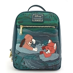 Disney Loungefly Bag - The Fox & The Hound Water Fight - Mini Backpack