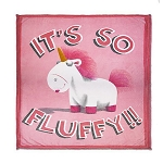Universal Throw Blanket - Fluffy the Unicorn - Despicable Me