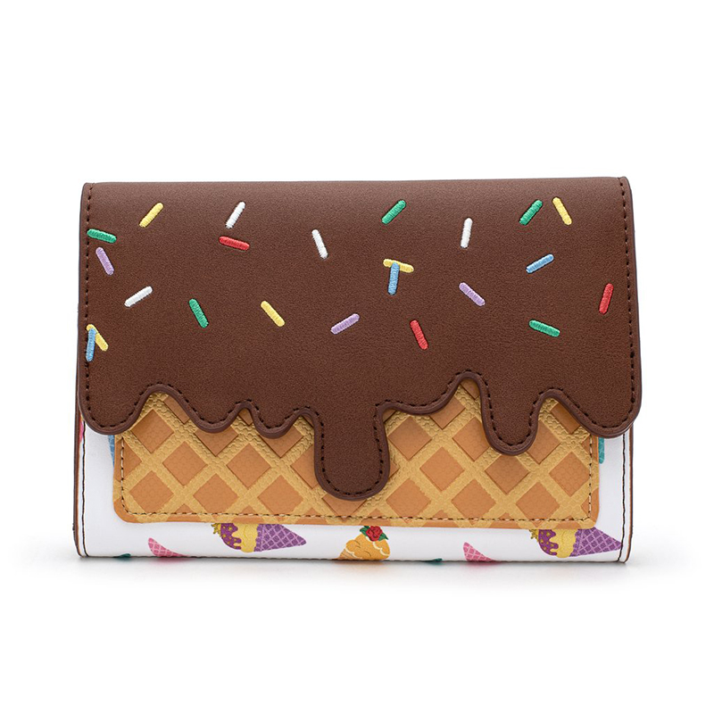 Disney Loungefly Flap Wallet - Disney Princess Ice Cream