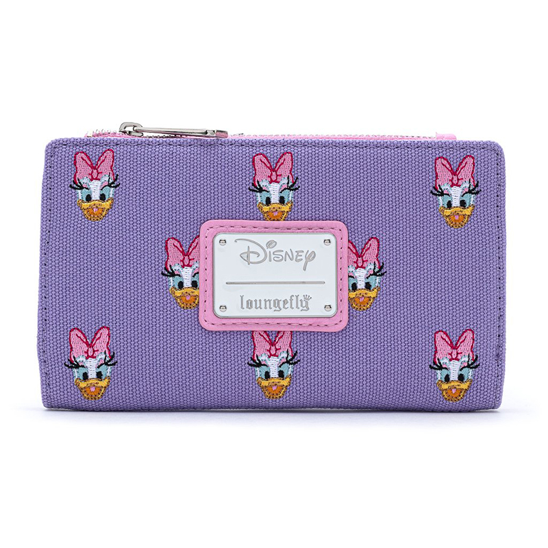 Disney Loungefly Flap Wallet - Daisy Duck - Canvas