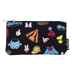 Disney Loungefly Pouch - Sensational 6 - Mickey & Friends Character Clothing Icons