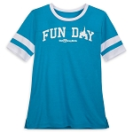 Disney Woman's Shirt - Fun Day at Walt Disney World - Football Jersey