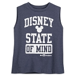 Disney Woman's Shirt - Disney State of Mind - Tank Top