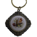 Disney Keychain Keyring - Initial Mickey Mouse - L Is For The Lion King Show
