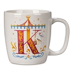 Disney Mug - K Is For King Arthur Carousel - ABC Disney Letters - Disneyland