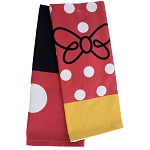 Disney Kitchen Towel Set - Character Costumes - Mickey and Minnie Mouse